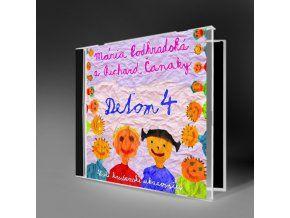 DEŤOM 4 - Na Slovensku jedinečné CD s veselými kresťanskými pesničkami a ukazovačkami.