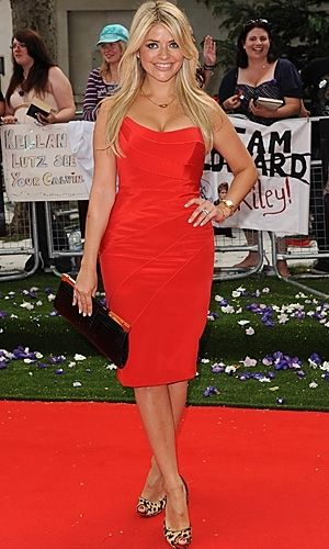 Holly Willoughby in Suzanne Neville