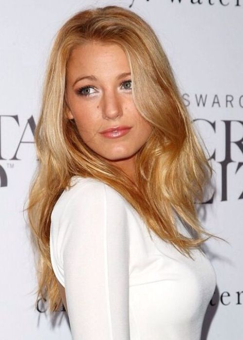 Blake Lively Blonde Hair Color Idea: Rose gold blonde 50 Best Blonde Hair Color Ideas for 2014 | herinterest.com