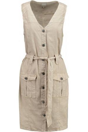 Casual jurken - Cream CAROLINA Blousejurk sand