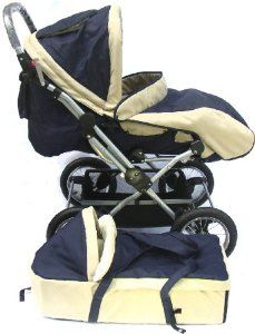 Everbright Deluxe Baby Stroller With Bassnet Foot Cover Everbright Deluxe Baby Stroller