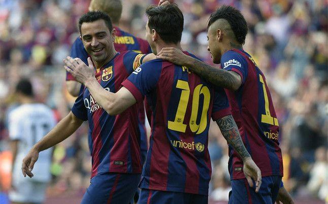 El Barça celebra La Liga con un empate que deja al Deportivo en Primera