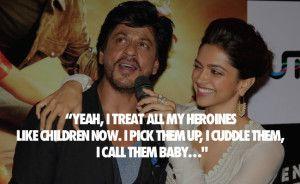 King of bollywood #Shahrukh khan quotes
