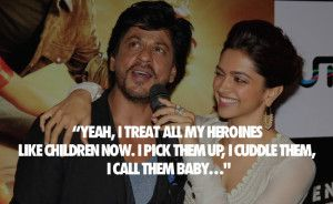 King of bollywood #Shahrukh khan quotes