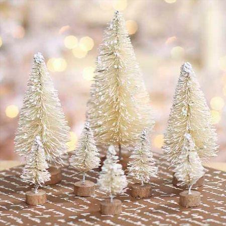 HOME DZINE Craft Ideas | Make a sisal bottle brush Christmas tree