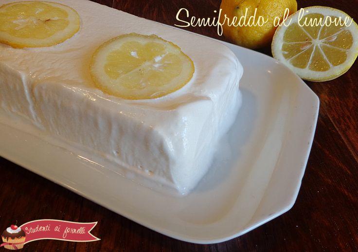 semifreddo al limone ricetta dolce al limone