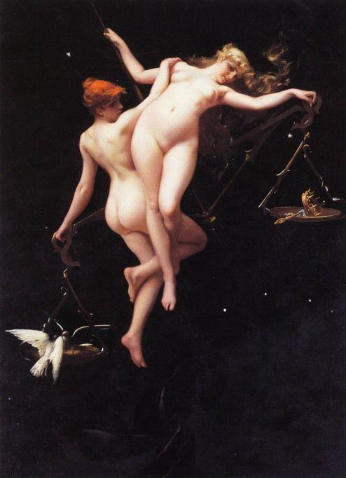 """Balance of the Zodiac"" by Luis Ricardo Falero."