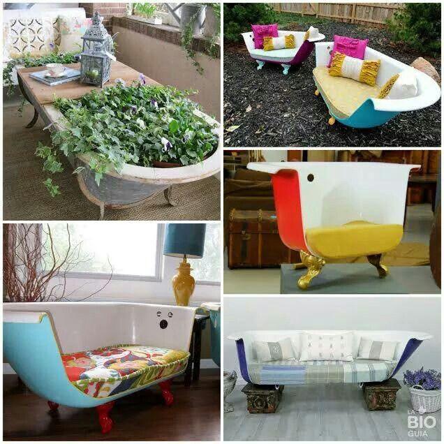 Tinas De Baño Viejas:de 1000 imágenes sobre Cosas de casa en Pinterest