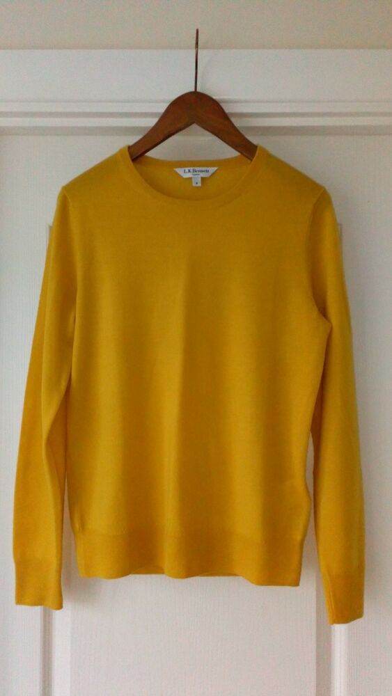 NEW LK BENNETT MUSTARD YELLOW WOOL JUMPER  fashion  clothing  shoes   accessories  womensclothing  sweaters (ebay link) db286065f826