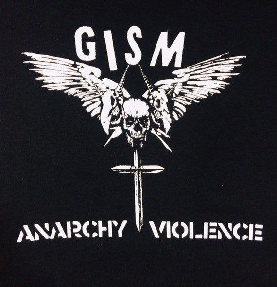 T Shirt Gism D Beat Raw Punk Etsy Punk Screen Printing New Bands