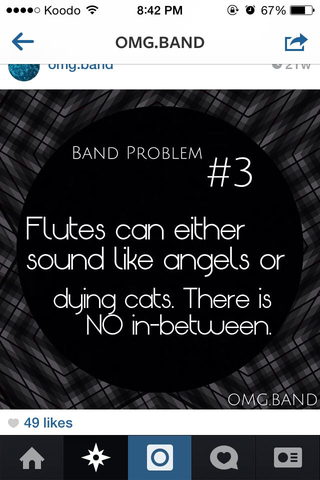 As an avid flute player, I can attest for this.                                                                                                                                                                                 More