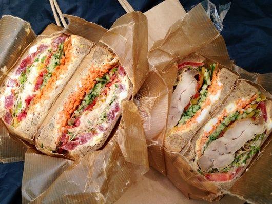 NORTHSHOREのテイクアウトサンドイッチとピクニック : ☆R-kafe☆