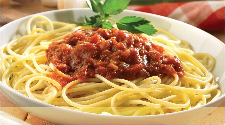 Spaghetti al ragù di Seitan