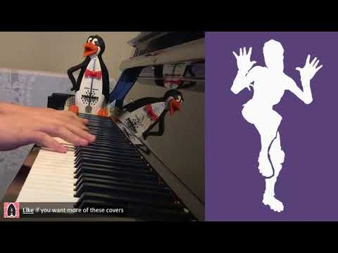 Fortnite Dance Zany Piano Cover Piano Covers On Popular Songs