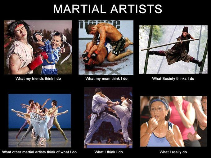 Martial Arts at its finest! xD hahaha but no... We awesome! XD