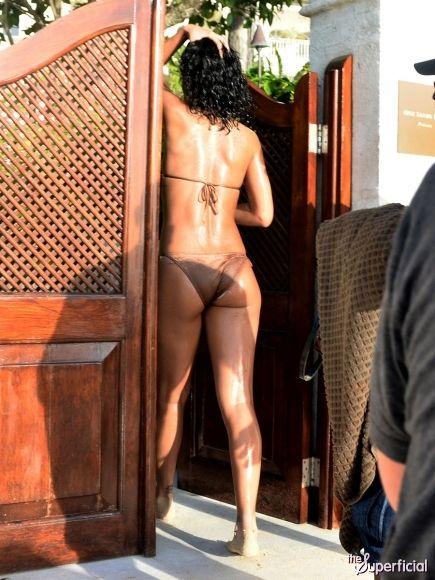 Rihanna Bikini Photos: Barbados