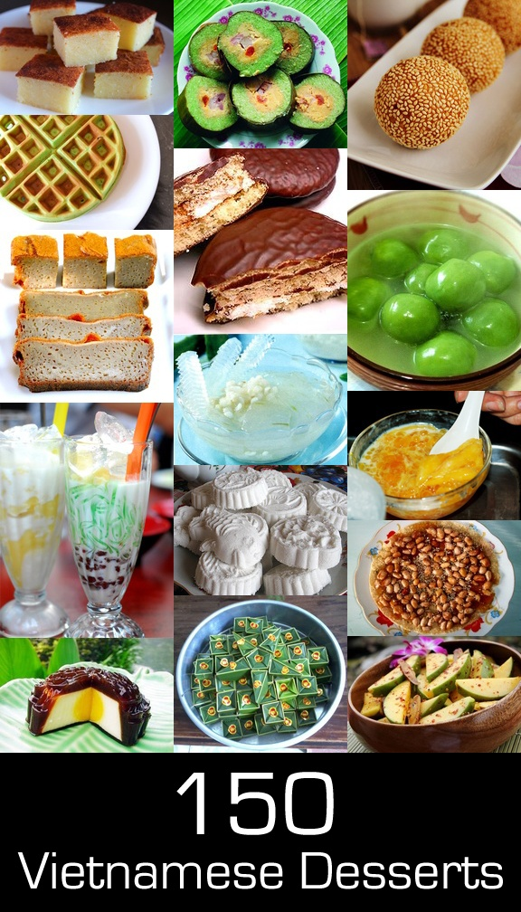 A Visual Guide to Over 150 Vietnamese Desserts