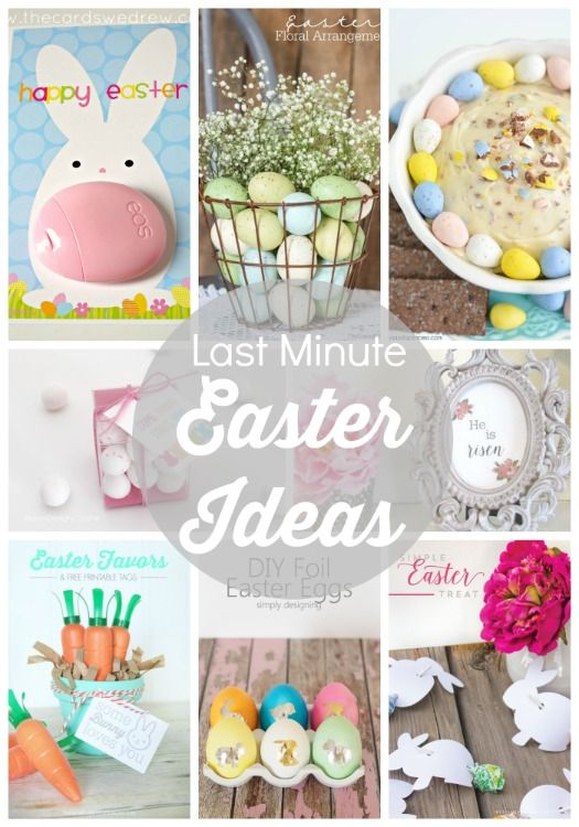 15 last minute easter ideas link party features mom for Last minute party ideas