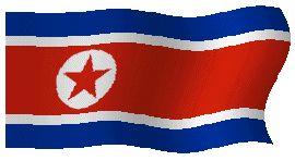 Banderas de Corea del Norte