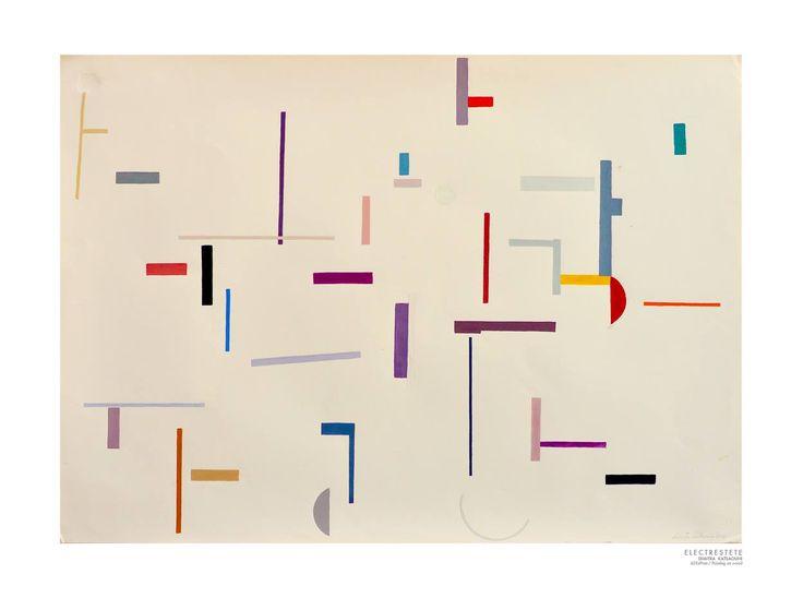 ''Electrestete'' - Acrylic on Paper.