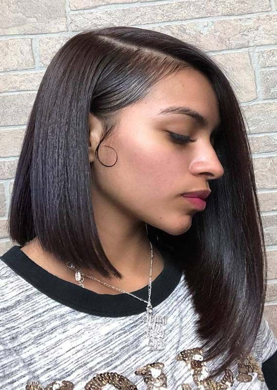 Here We Have Brought Up Fantastic Ideas Of A Line Bob Haircuts And Hairstyles To Wear Nowadays Just Bob Hairstyles Hairstyles For Thin Hair Cute Bob Hairstyles
