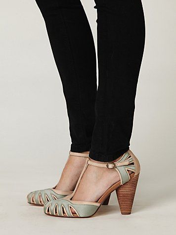 adele t-strap heel ++ free people