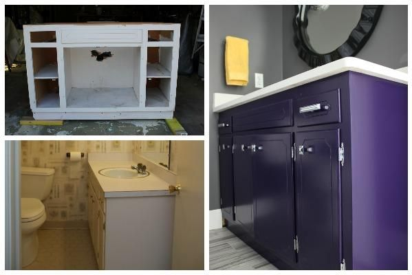 Do you have any tips for painting bathroom vanities?