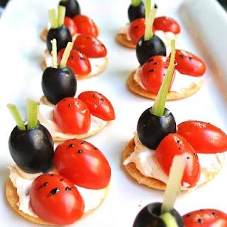 ladybug appetizers #glutenfree