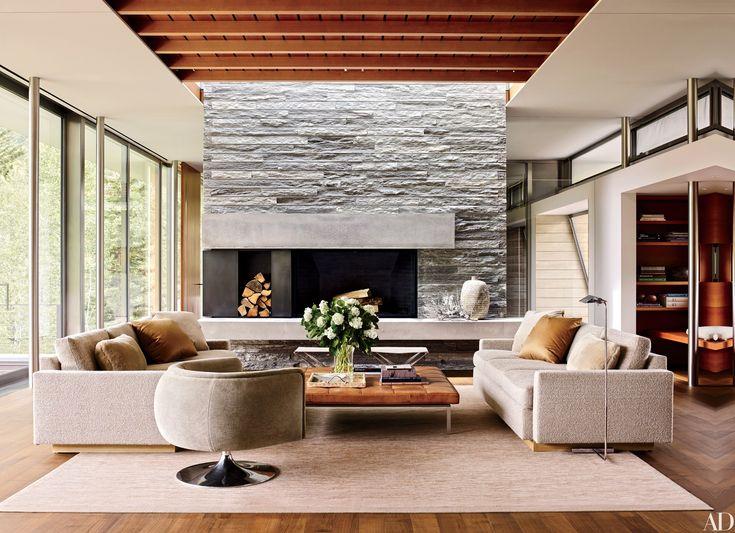 66 best living room inspirations images on pinterest for Aspen interior design firms