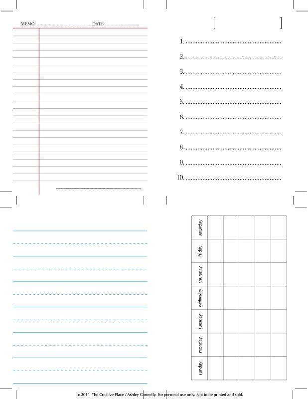 Free Printable 3.5x5 Journaling Cards…