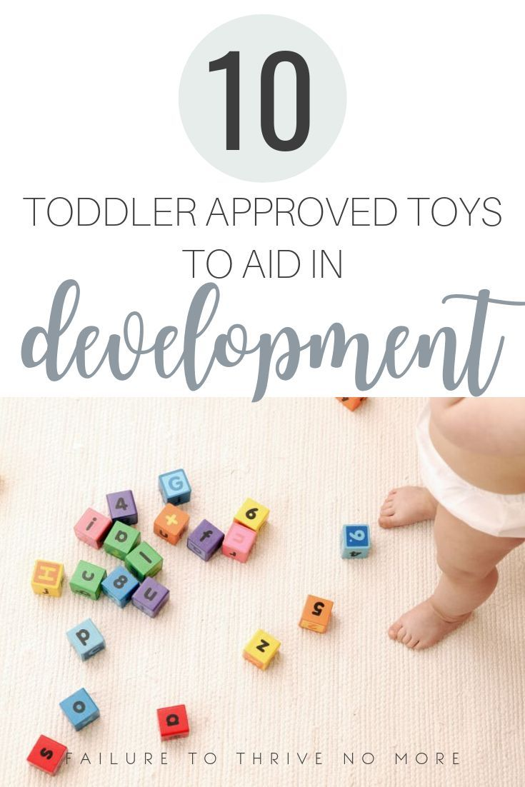 10 Toddler Approved Toys to Help Development