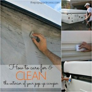 How to Clean & Care for Your Pop Up Camper Exterior PLUS a 303 Giveaway!