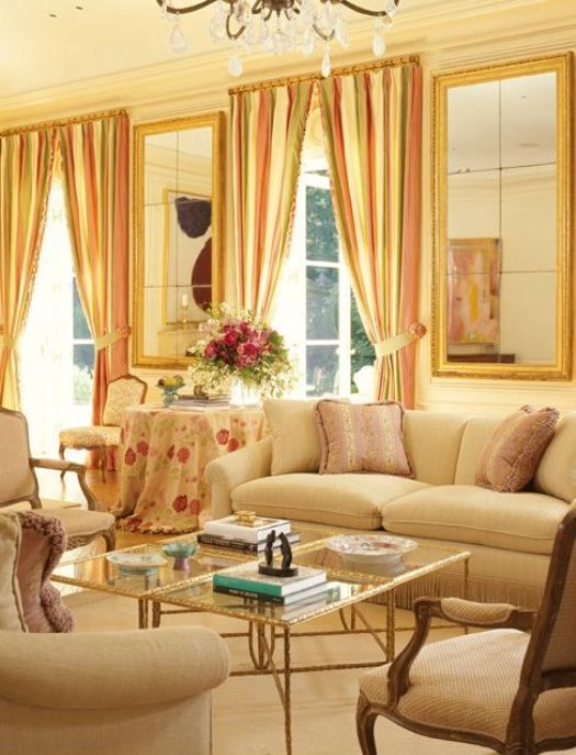 Living spaces a collection of ideas to try about home - Country living room color schemes ...