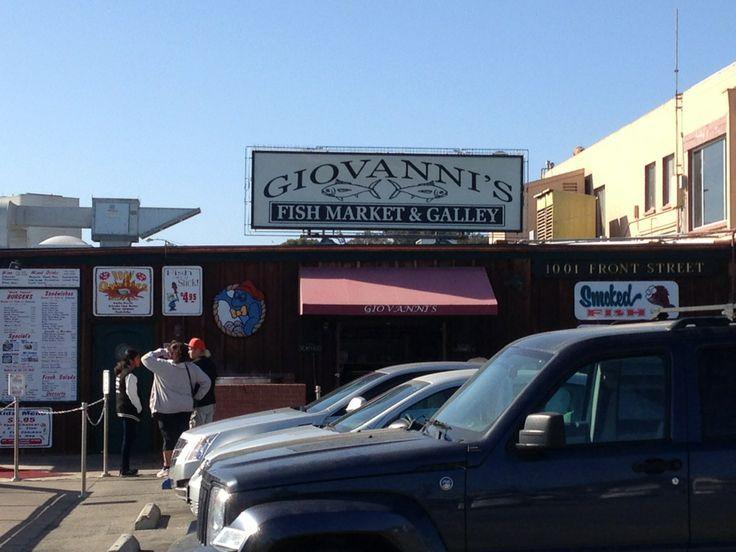 28 best favorite restaurants images on pinterest diners for Giovanni s fish market
