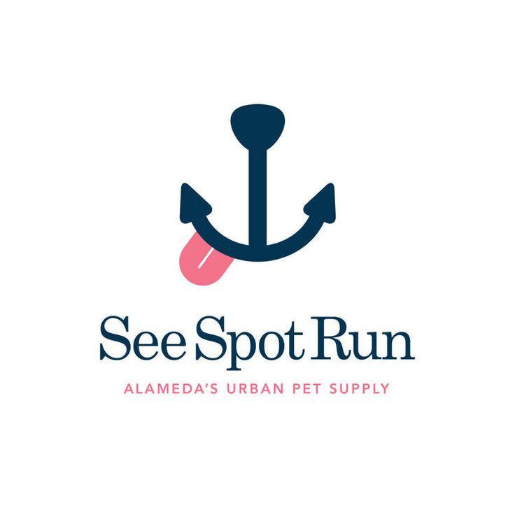 SEE SPOT RUN Pet store in Alameda, CA, site of a former naval base.