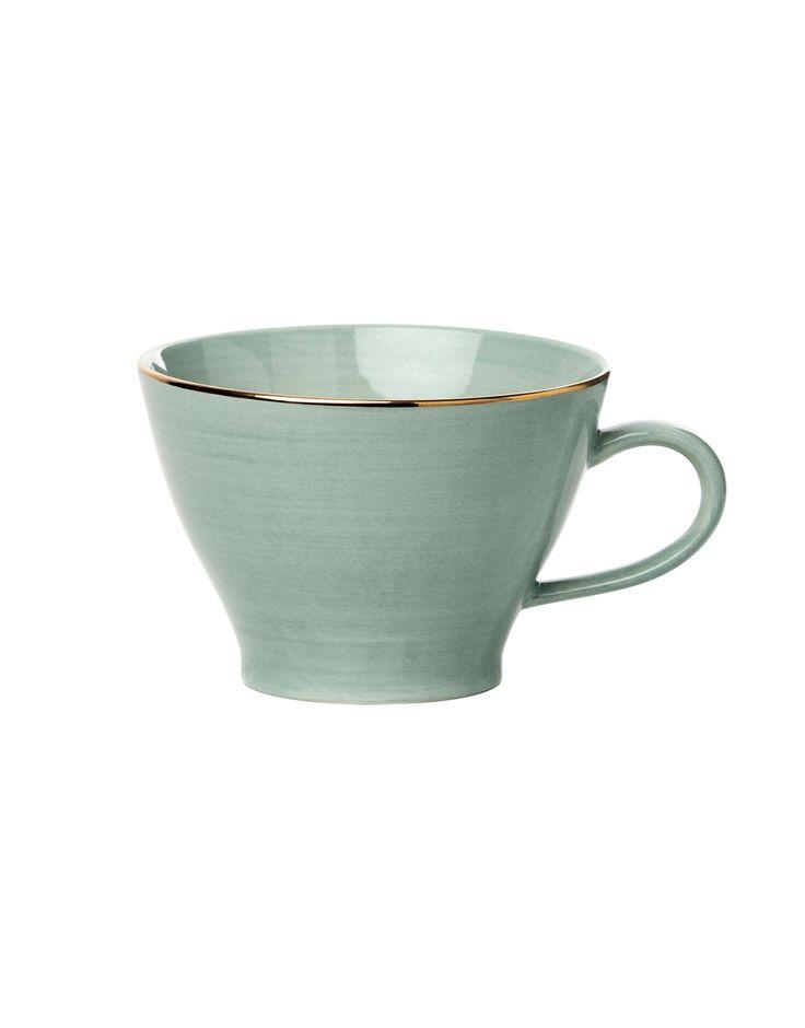PLAIN GOLD CUP mugg | Mugs/cups | muggar och skålar | Glas & Porslin | Inredning | Indiska.com