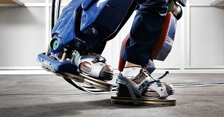 Tek Şarjla 4 Saat Sizin Yerinize Yürüyen Giyilebilir Robot: Exoskeletons