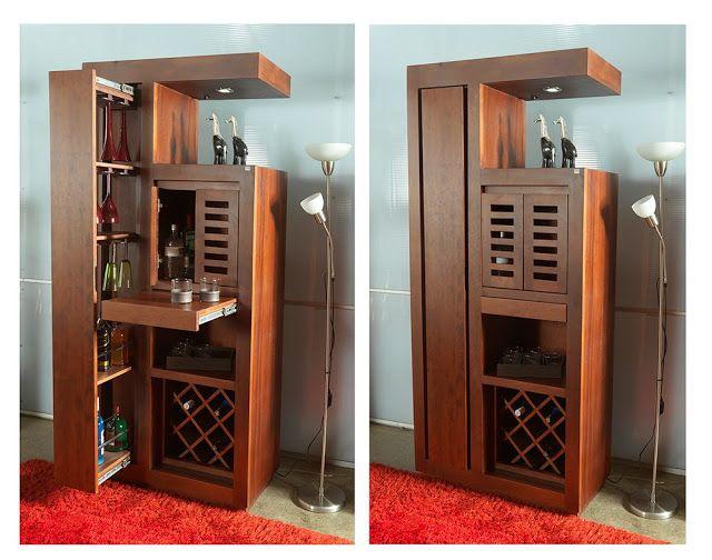 M s de 1000 ideas sobre bastidores de vino de madera en for Bar madera esquinero