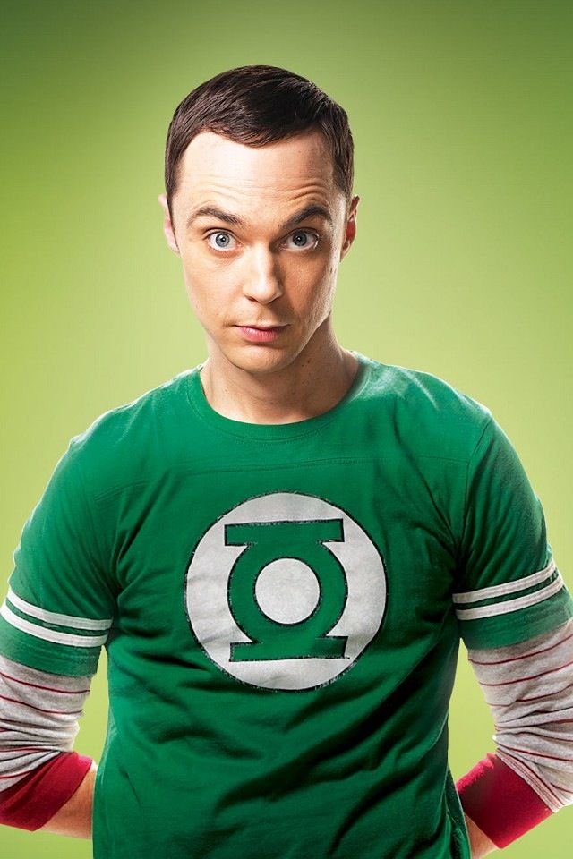 Dr. Sheldon Cooper from Big Bang Theory. My favorite geek!