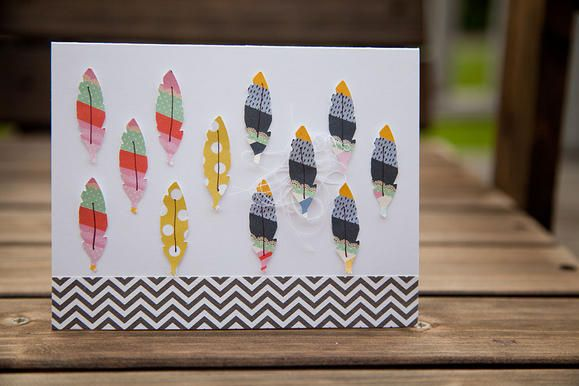 Feather Card www2.fiskars.com