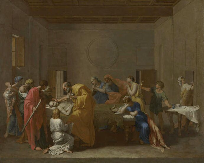 Poussin, Extreme Unction