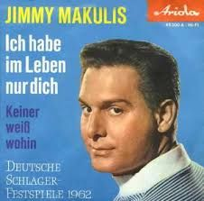 """Jimmy Makulis - """"Ich habe im Leben nur dich"""", german preselection for the Eurovision Song Contest 1962, place 11"""