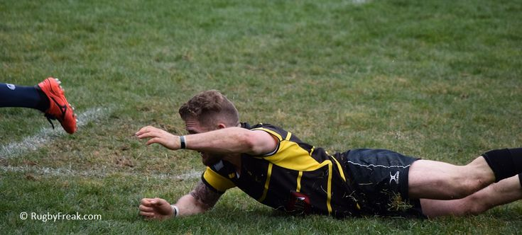 Rugby player misses his tackle and can only watch from the grass. #rugbyfreak #sofreaky #bcrugby #JBAA #rugby #loverugby