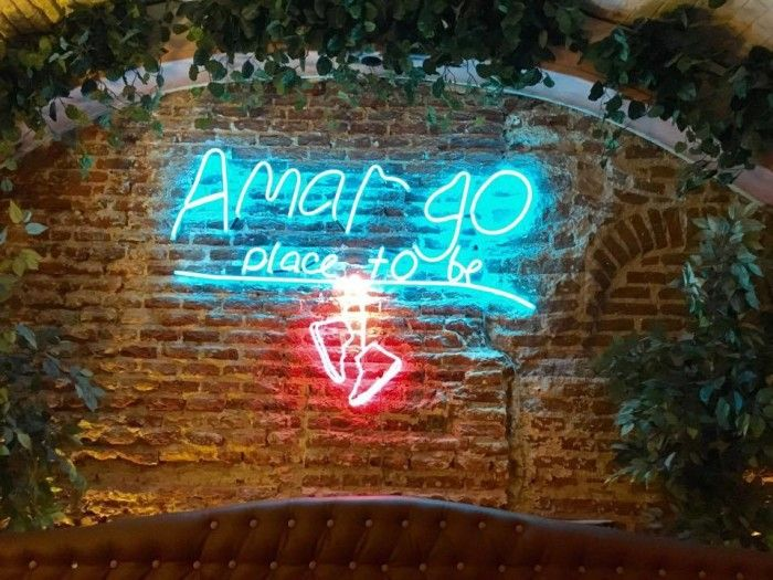 Amargo, the city's best veggie burger (and much more)