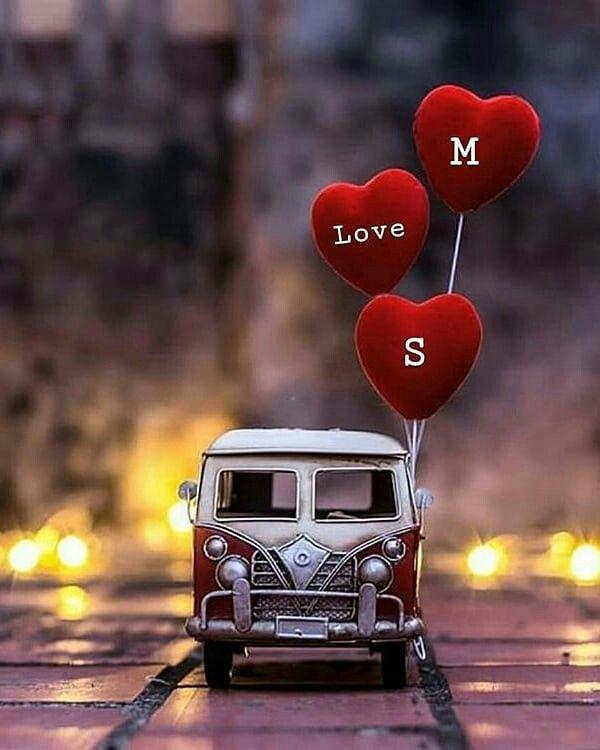 L O V M S Muskaanali S Love Images Alphabet Wallpaper