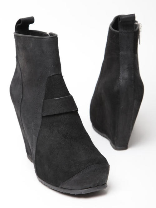 Lizard Skin Ankle Boots Fall/winter Rick Owens