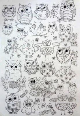 owl patterns