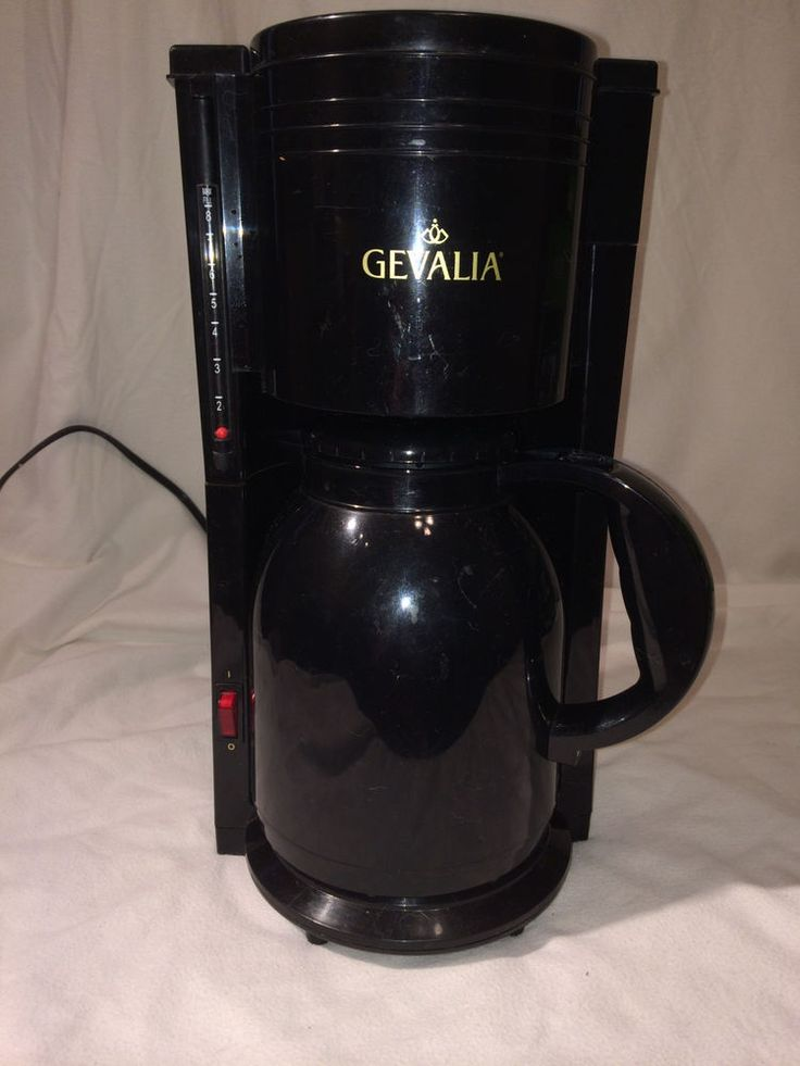 Gevalia 8 Cup Thermal Carafe Coffee Maker Model # KA 865 MB Models, Coffee and Carafe