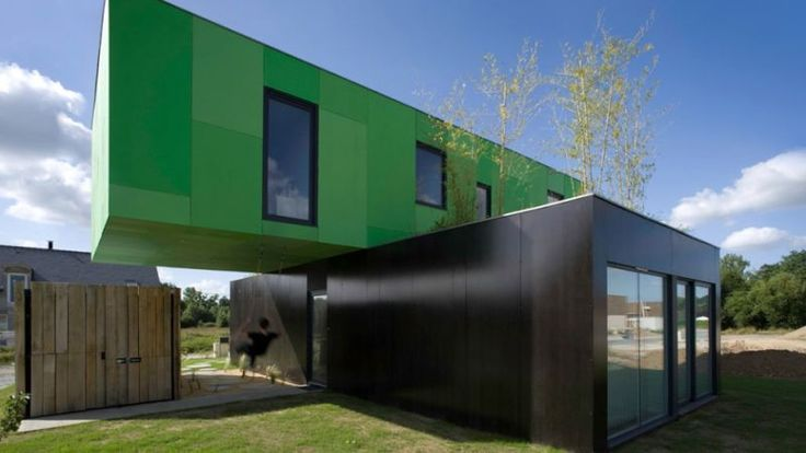 The relatively cheap shipping container is a good foundation for a strong, mobile, and post-apocalyptic home. In the last two decades, architects have been incorporating shipping containers into everything from schools to houses — for aesthetic reasons, but also out of economic necessity. Here are some of their most eye-catching creations.