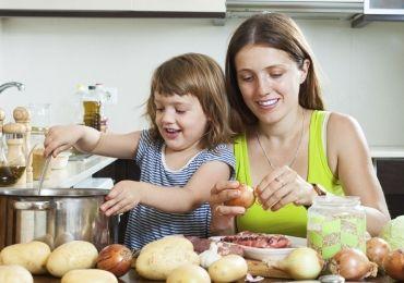 Krimplileves főzés gyerekkel